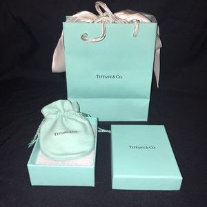 Tiffany Necklace Box & Bags